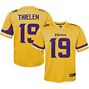 Nike Youth Minnesota Vikings Adam Thielen #19 Gold Game Jersey