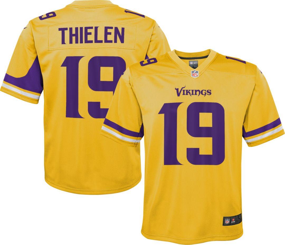 sale retailer 5b526 beb74 Nike Youth Alternate Legend Jersey Minnesota Vikings Adam Thielen #19