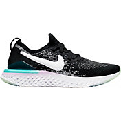 b9fa482c722a Product Image · Nike Kids  Grade School Epic React Flyknit 2 Running Shoes  in Black White