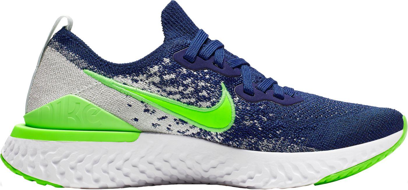 Nike Kids' Grade School Epic React Flyknit 2 Running Shoes