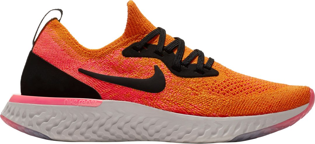 quite nice e8ee5 3ea32 Nike Kids' Grade School Epic React Flyknit Running Shoes | DICK'S ...