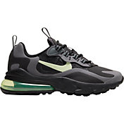 Nike Kids' Grade School Air Max 270 React Shoes in Black/Volt