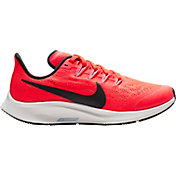 Nike Kids' Grade School Air Zoom Pegasus 36 Running Shoes in Crimson/Black