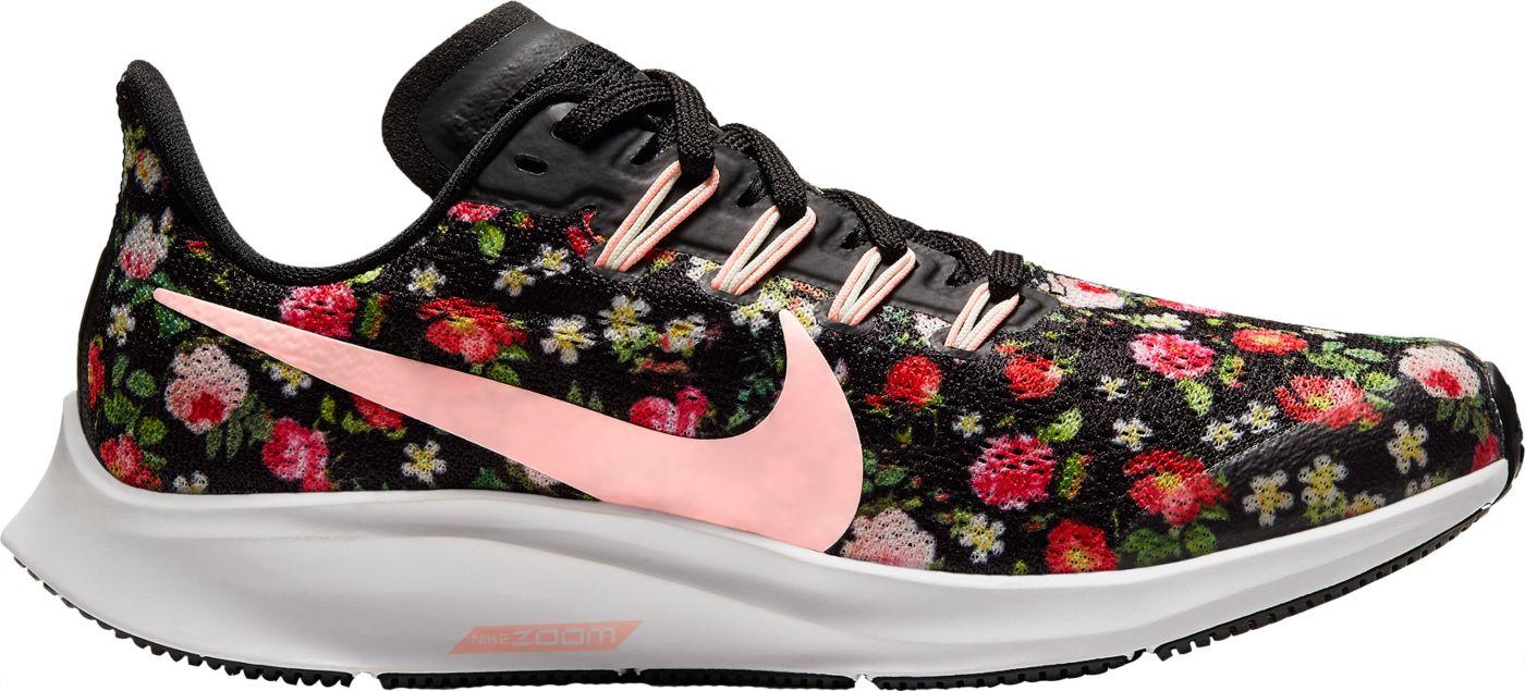 Nike Kids' Grade School Air Zoom Pegasus 36 Vintage Floral Running Shoes