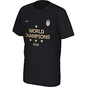 Nike Youth 2019 FIFA Women's World Cup Champions USA Soccer Black T-Shirt