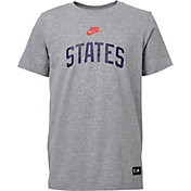 Nike Youth USA Soccer States Gray T-Shirt