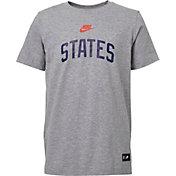 Nike Youth USA Soccer States Gray T-Shirt