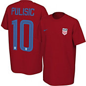 Nike Youth USA Soccer Christian Pulisic #10 Red Player T-Shirt