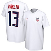 Nike Youth USA Soccer Alex Morgan #13 White Player T-Shirt
