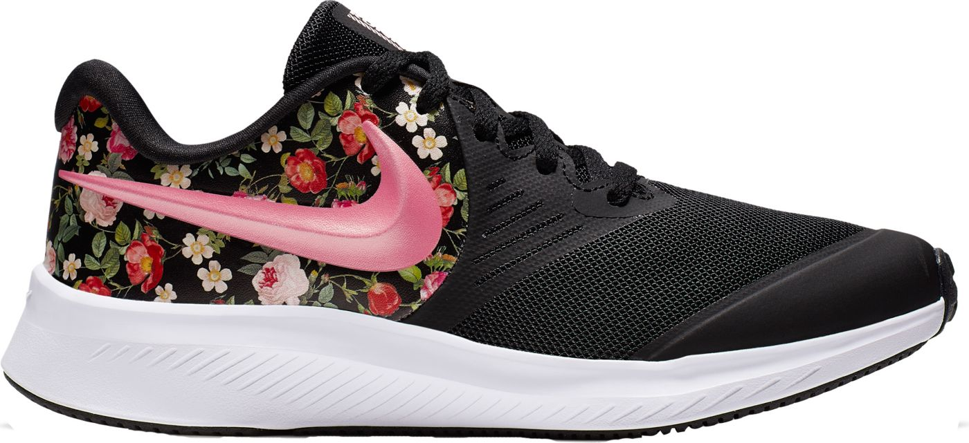 Nike Kids' Grade School Star Runner 2 Vintage Floral Running Shoes
