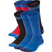 Nike Boy's Everyday Cushioned Crew Socks - 6 Pack