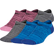 Nike Youth Everyday Lightweight No-Show Socks - 6 Pack