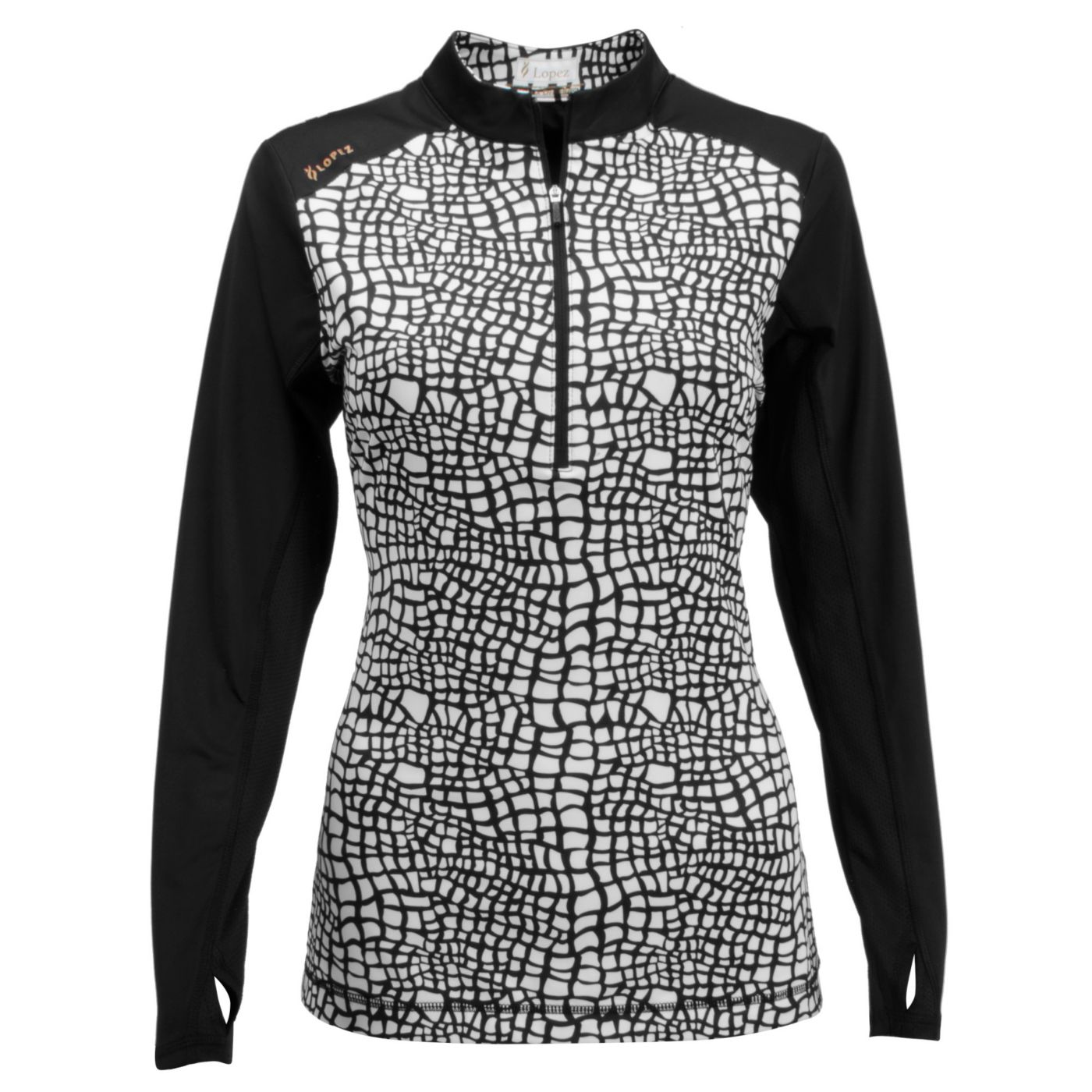 Nancy Lopez Women's Long Sleeve Joy Golf Pullover - Extended Sizes
