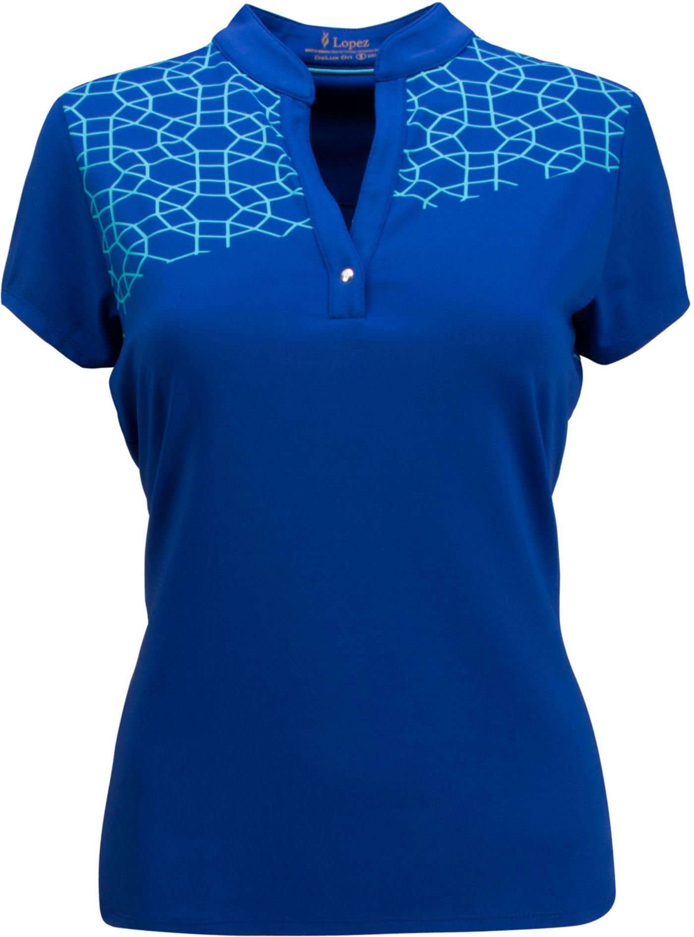 Nancy Lopez Women's Legacy Golf Polo - Extended Sizes