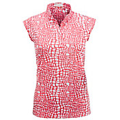 Nancy Lopez Women's Native Short Sleeve Golf Polo - Extended Sizes