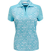 Nancy Lopez Women's Race Golf Polo - Extended Sizes