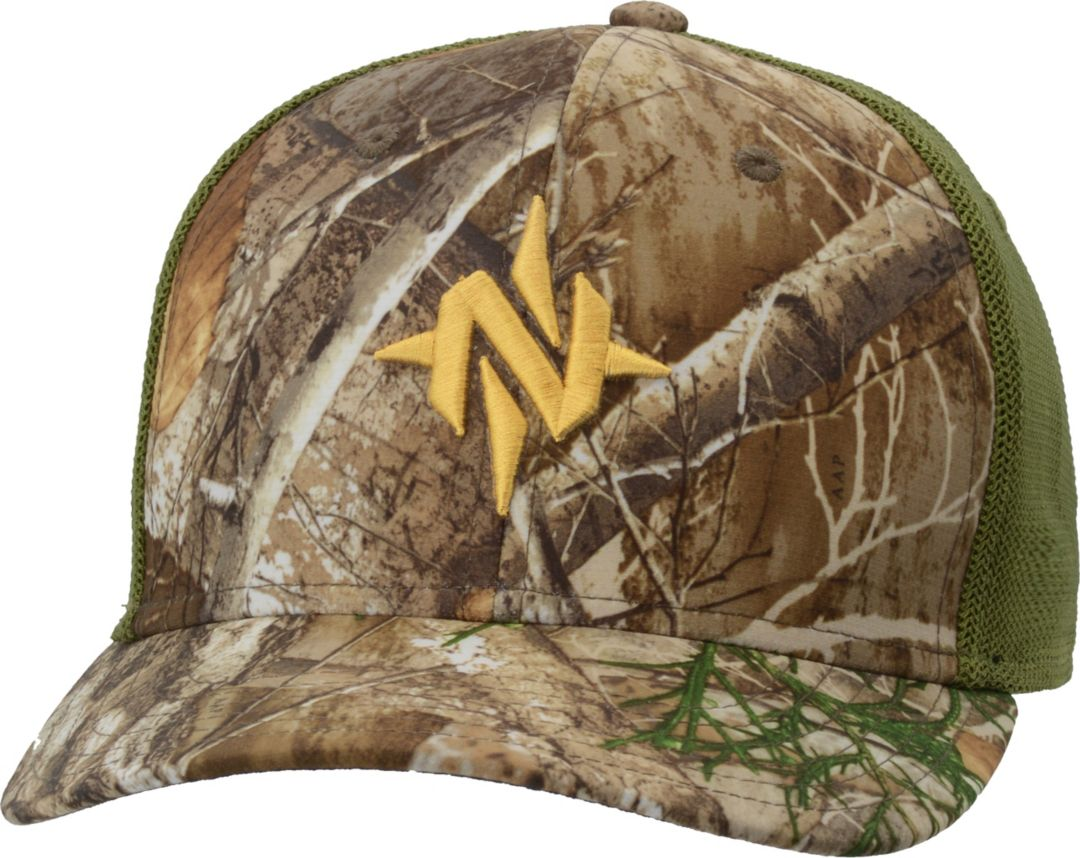 724549e86 NOMAD Men's Mark Camo Stretch Trucker Hat