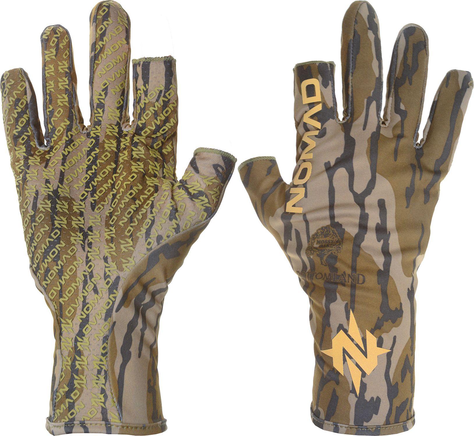 Nomad Men's Fingerless Turkey Gloves, Mossy Oak Blades thumbnail