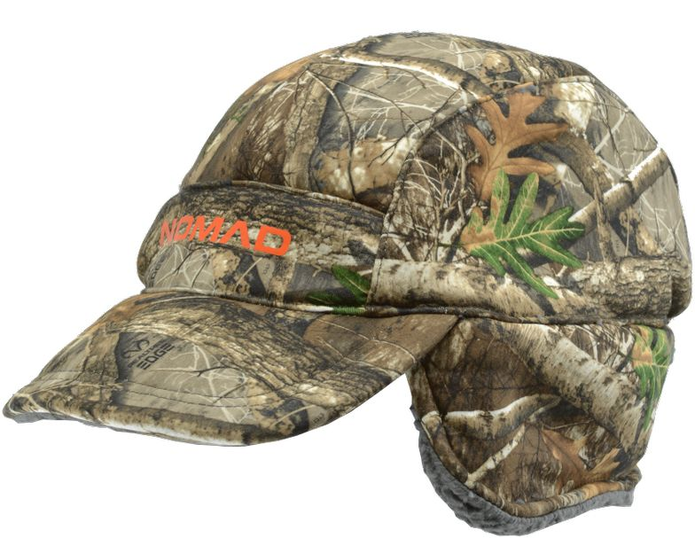 NOMAD Men's Harvester Flap Cap, Size: One size, Mossy Oak Country