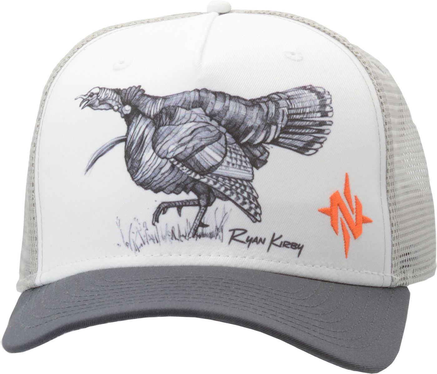 NOMAD Men's Ryan Kirby Turkey Trot Trucker Hat