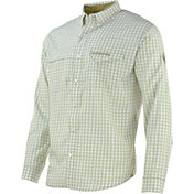 NOMAD Men's Turkey Banquet Plaid Long Sleeve Shirt
