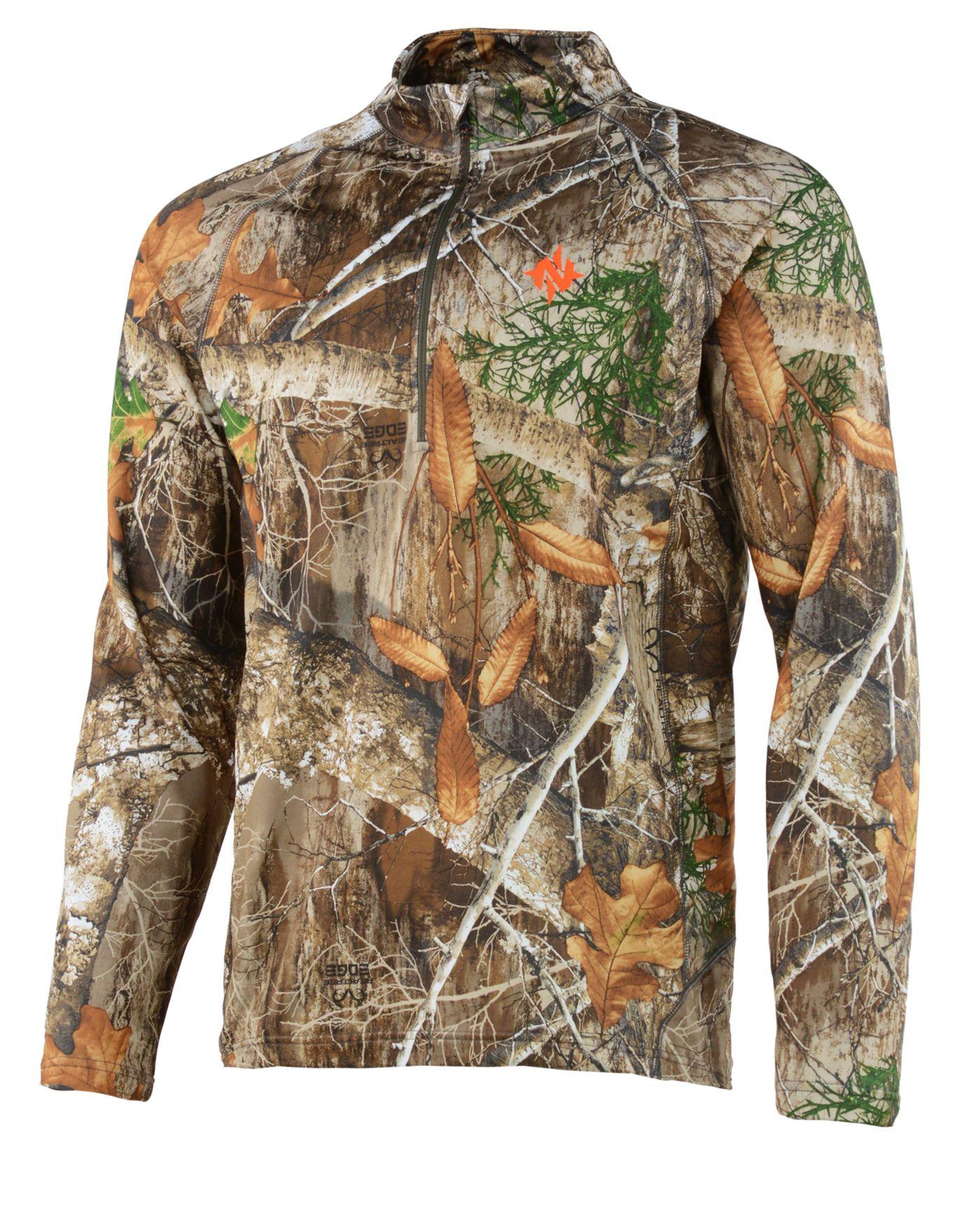 NOMAD Men's Transition 1/4 Zip Hunting Shirt
