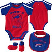 NFL Team Apparel Infant Buffalo Bills Bib/Booties Set