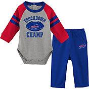 NFL Team Apparel Infant Buffalo Bills Touchdown Pant Set