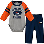 NFL Team Apparel Infant Denver Broncos Touchdown Pant Set