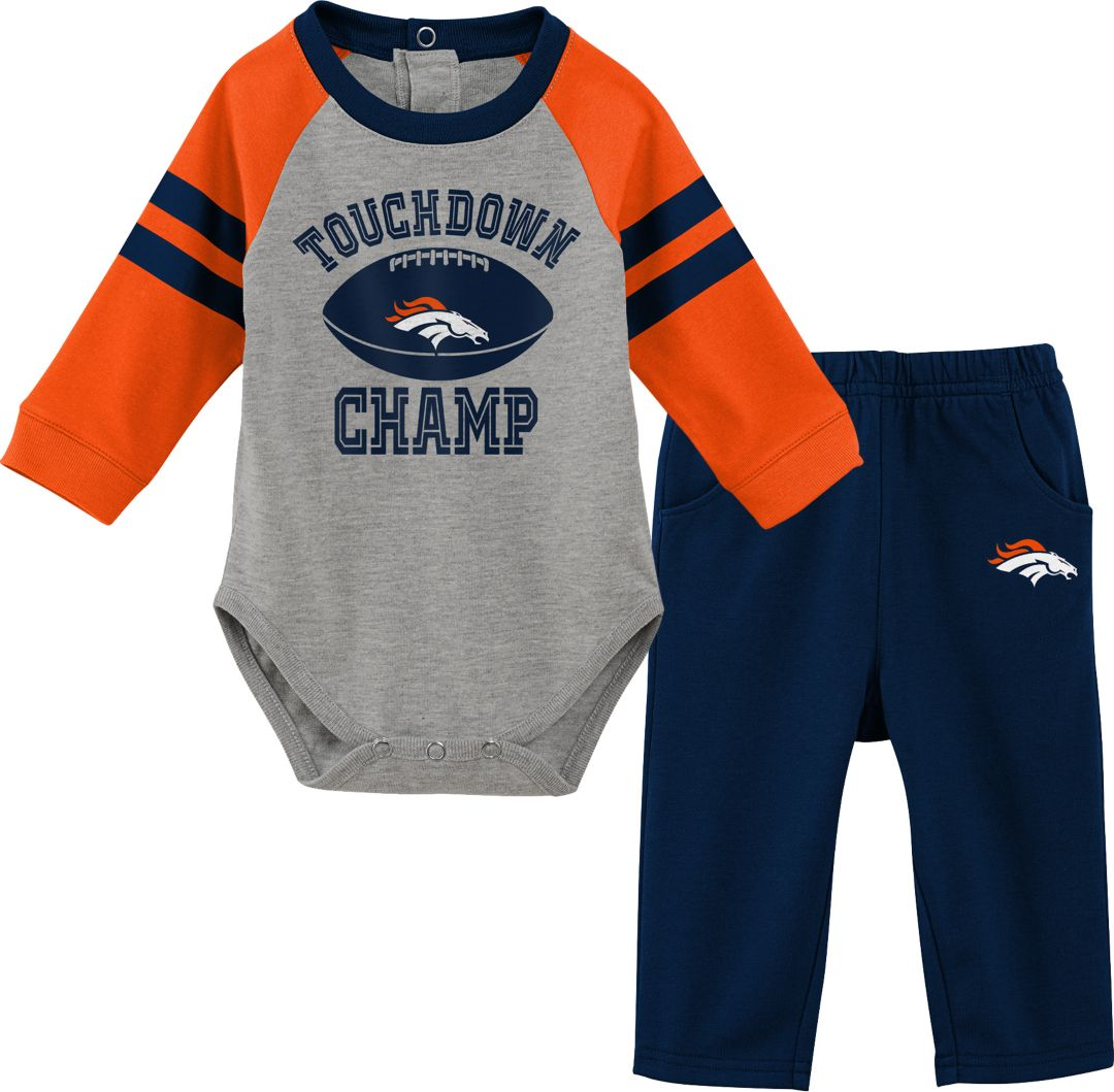 san francisco 04f49 18641 NFL Team Apparel Infant Denver Broncos Touchdown Pant Set