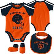 NFL Team Apparel Infant Chicago Bears Bib/Booties Set
