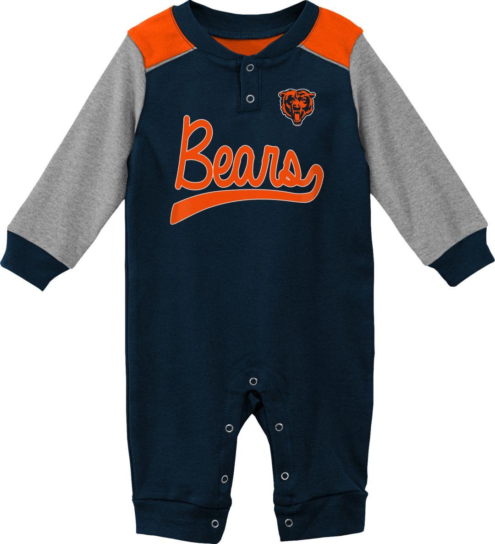 timeless design b2154 3466d NFL Team Apparel Infant Chicago Bears Navy Coverall