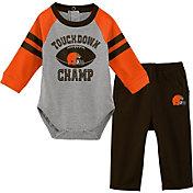 NFL Team Apparel Infant Cleveland Browns Touchdown Pant Set