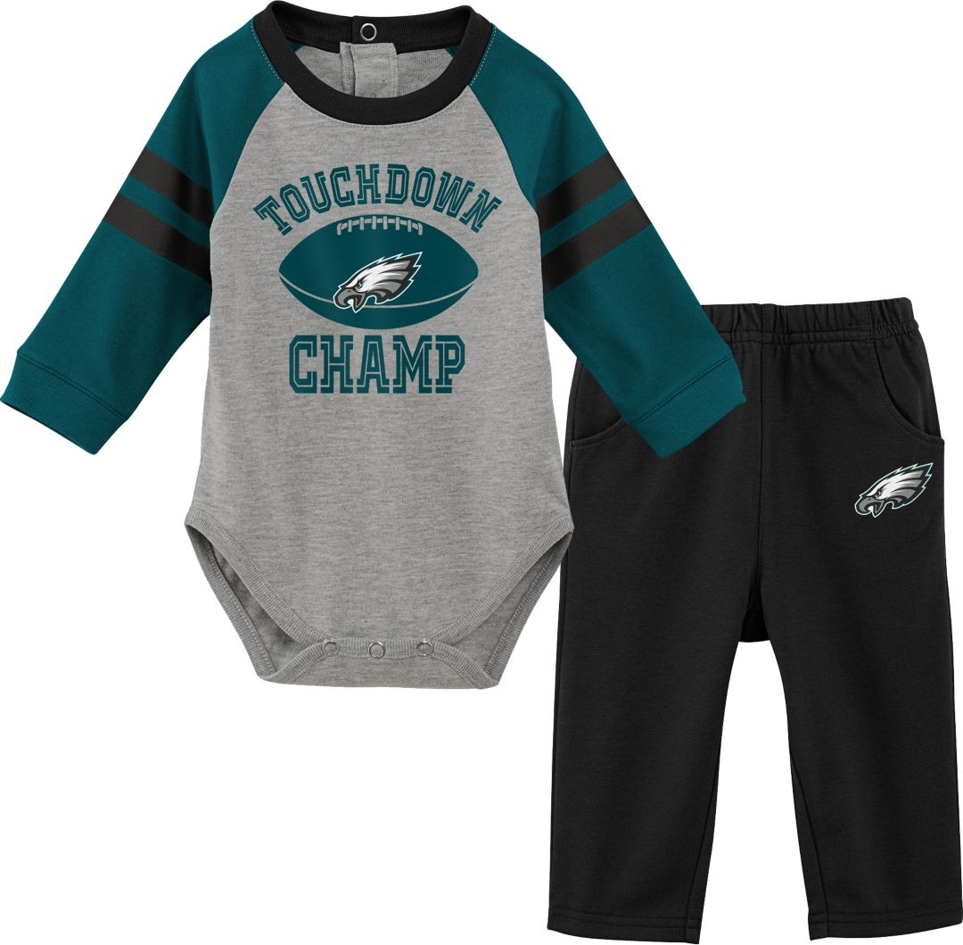 new arrival 3a713 db225 NFL Team Apparel Infant Philadelphia Eagles Touchdown Pant Set