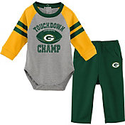 NFL Team Apparel Infant Green Bay Packers Touchdown Pant Set