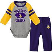 NFL Team Apparel Infant Minnesota Vikings Touchdown Pant Set