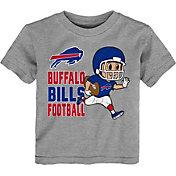 NFL Team Apparel Toddler Buffalo Bills Lil Player Grey T-Shirt