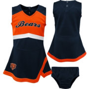 NFL Team Apparel Toddler Chicago Bears Cheer Jumper Dress