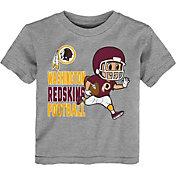 NFL Team Apparel Toddler Washington Redskins Lil Player Grey T-Shirt