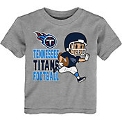 NFL Team Apparel Toddler Tennessee Titans Lil Player Grey T-Shirt