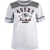 NFL Team Apparel Women's San Francisco 49ers Peppercorn T-Shirt