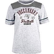 NFL Team Apparel Women's Tampa Bay Buccaneers Peppercorn T-Shirt