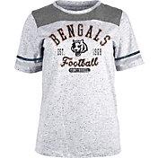 NFL Team Apparel Women's Cincinnati Bengals Peppercorn T-Shirt