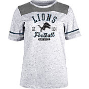 NFL Team Apparel Women's Detroit Lions Peppercorn T-Shirt