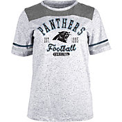 NFL Team Apparel Women's Carolina Panthers Peppercorn T-Shirt