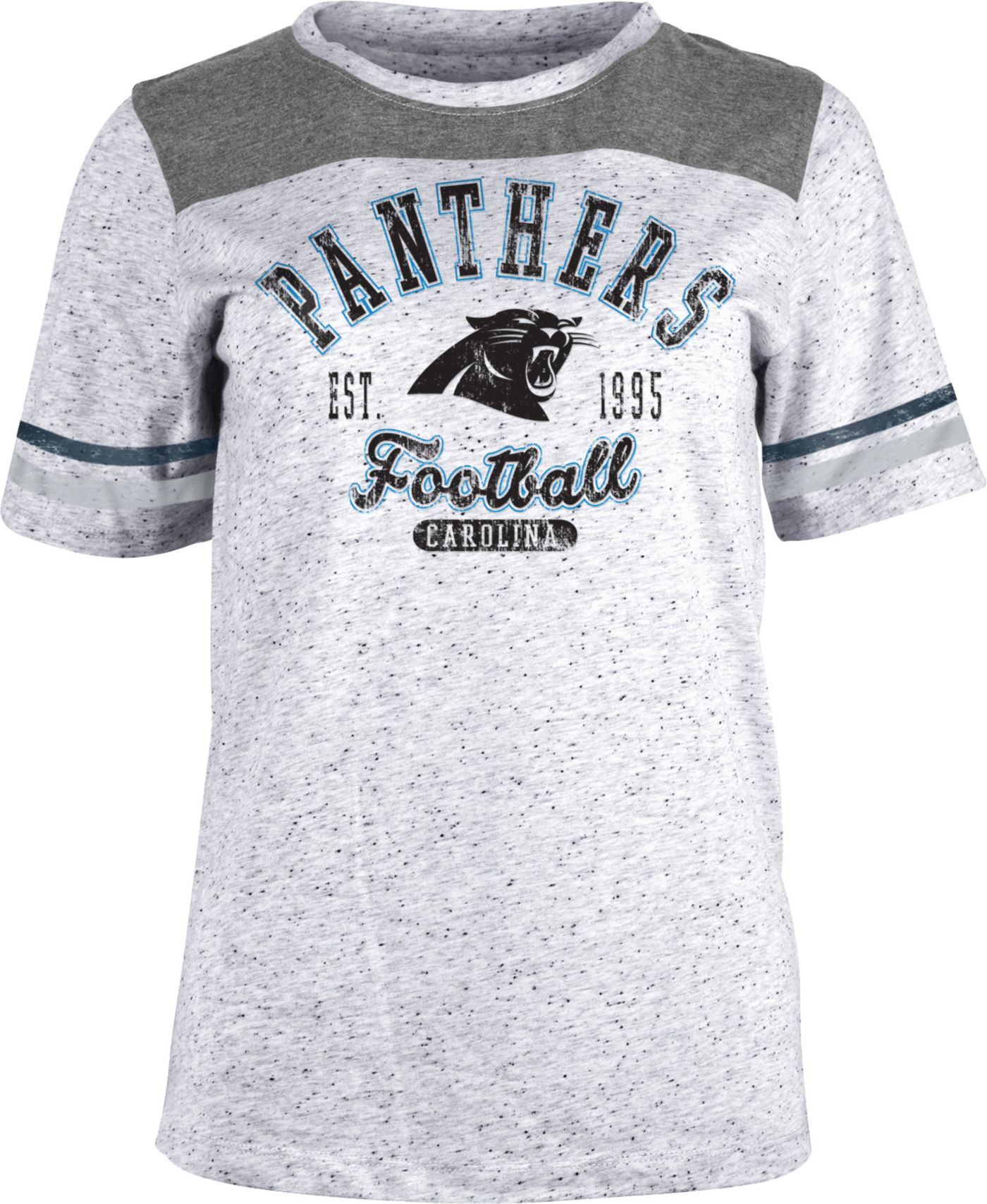 NFL Team Apparel Women's Carolina Panthers Peppercorn T-Shirt