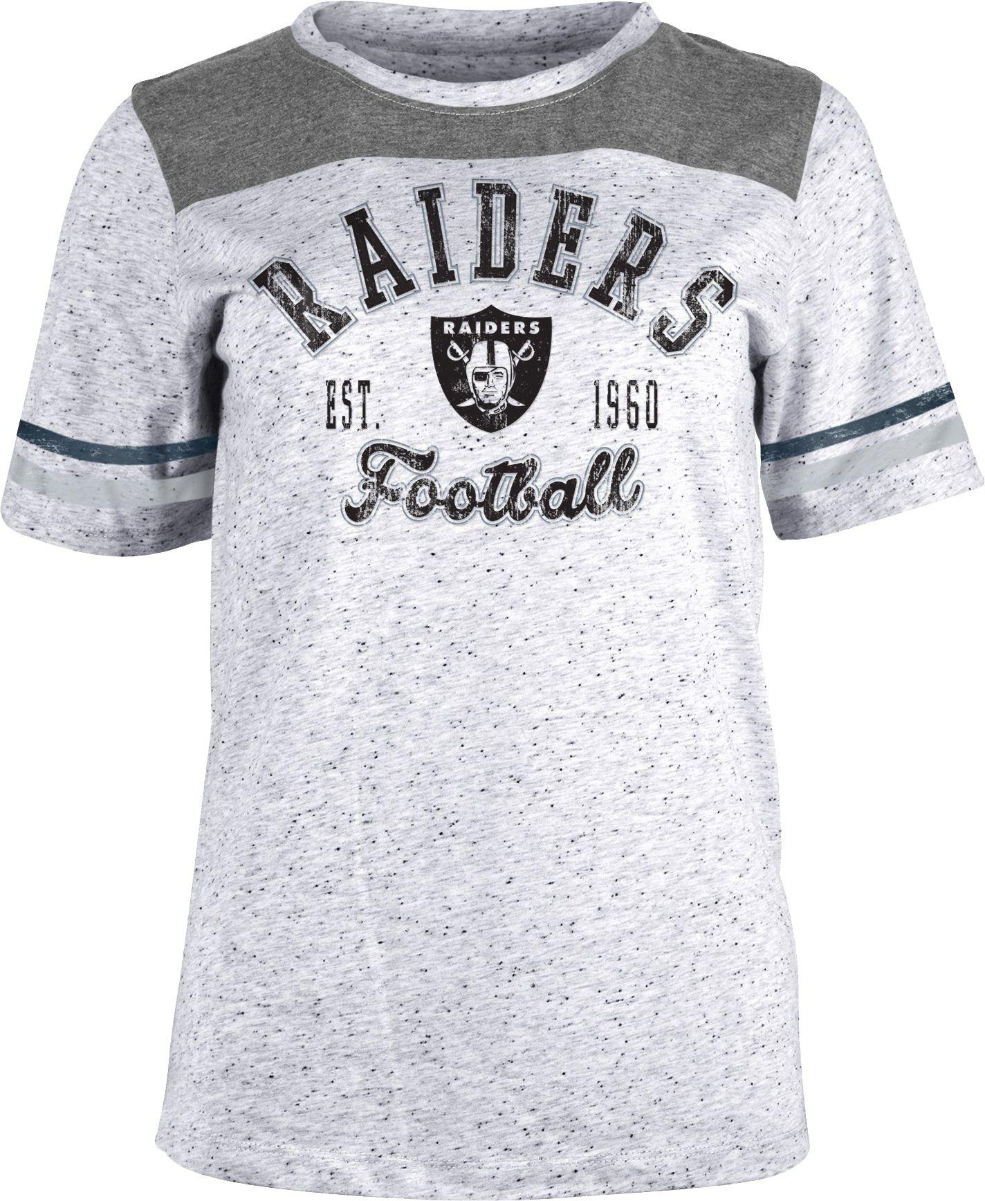 raiders t shirt women's