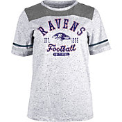 NFL Team Apparel Women's Baltimore Ravens Peppercorn T-Shirt