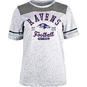 NFL Team Apparel Women's Baltimore Ravens Peppercorn T-Shirt