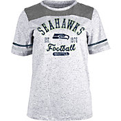 NFL Team Apparel Women's Seattle Seahawks Peppercorn T-Shirt